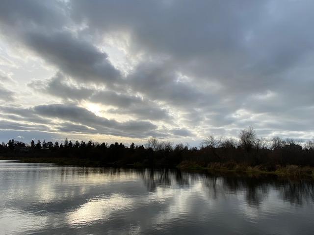 Swan Lake at Solstice